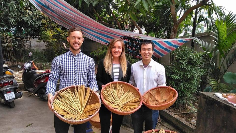 bamboo straw